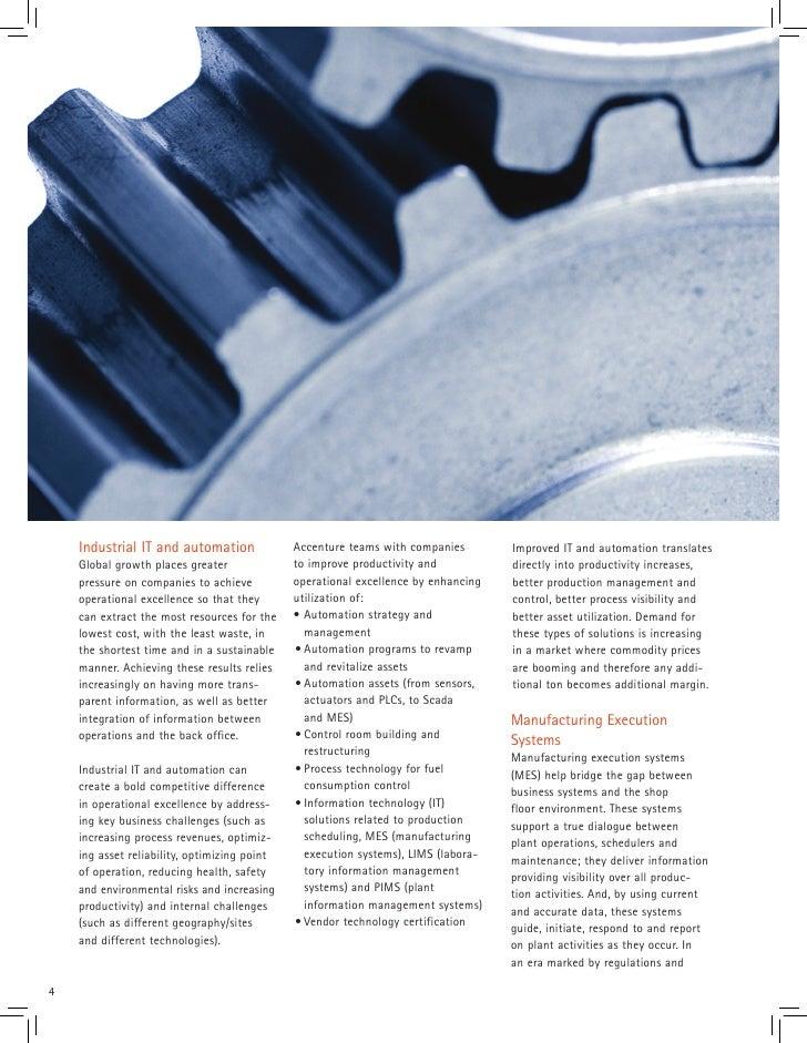 Accenture Plant Asset Solutions Brochure
