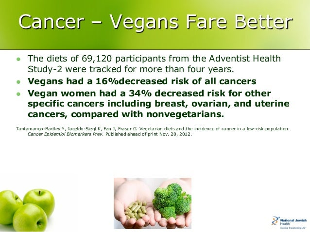 vegan diet cure cancer