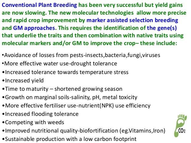 application of plant genetic engineering in crop improvement pdf