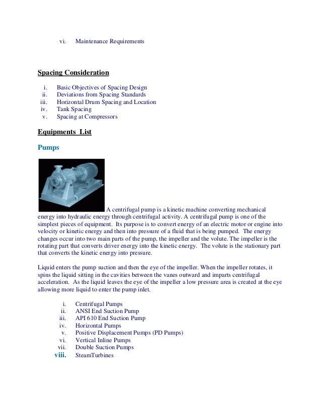 Plant design  piping & equipment team scope of work Slide 3