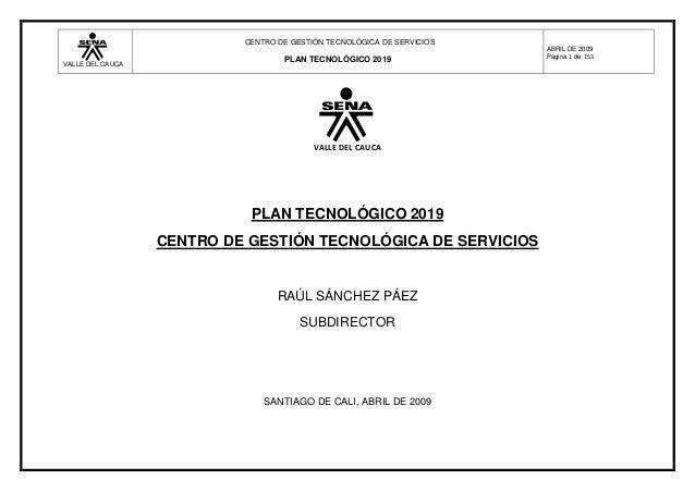 CENTRO DE GESTIÓN TECNOLÓGICA DE SERVICIOS                                                                        ABRIL DE...