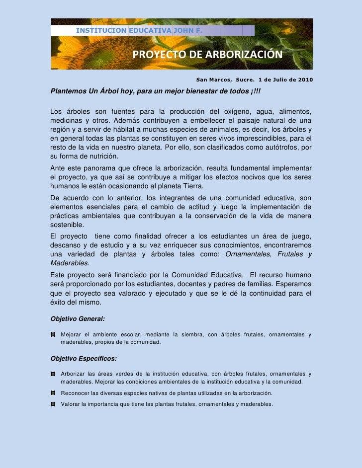 17702-229863<br />San Marcos,  Sucre.  1 de Julio de 2010<br />Plantemos Un Árbol hoy, para un mejor bienestar de todos ¡!...