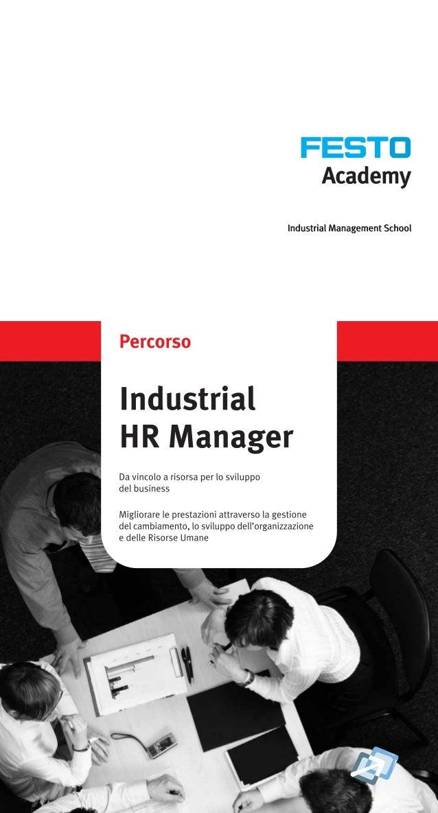 Industrial Hr Manager training Program