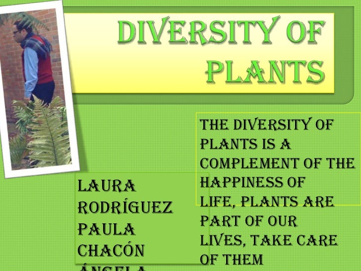 Diversity of Plants<br />The diversity of plants is a complement of the happiness of life, plants are part of our lives, t...