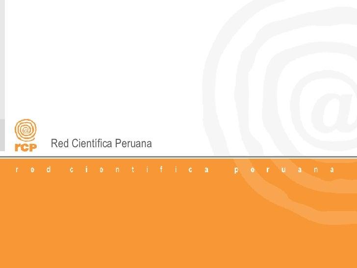 Red Científica Peruana