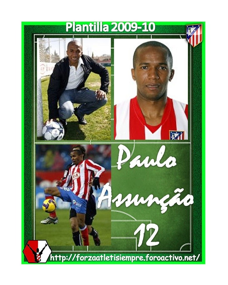 PLANTILLA 2009-10 ATLETICO DE MADRID - 웹
