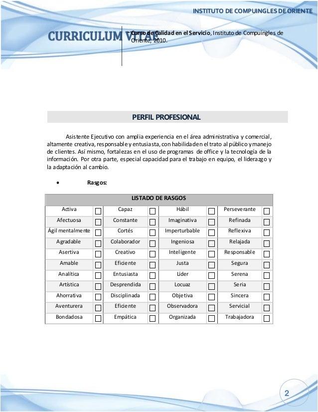 Único Plantilla De Asistente De Gerente De Proyecto Cv Molde ...