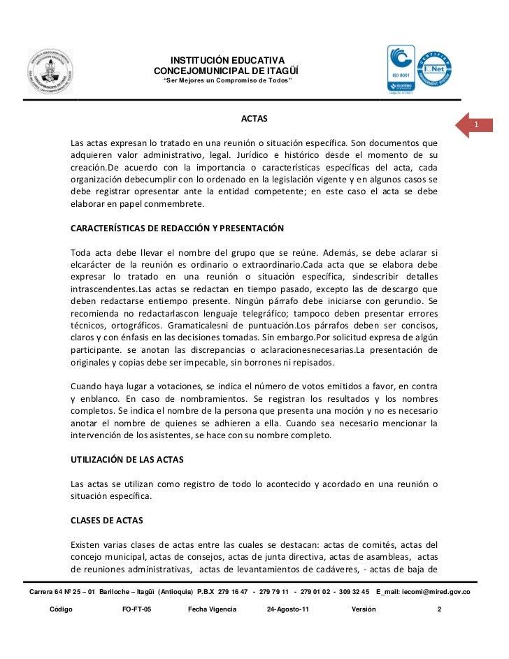 INSTITUCIÓN EDUCATIVA                                       CONCEJOMUNICIPAL DE ITAGÜÍ                                    ...