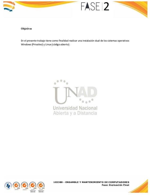 Manual de instalación de los sistemas operativos Windows y