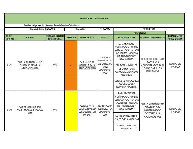 Plantilla gestion de riesgo2