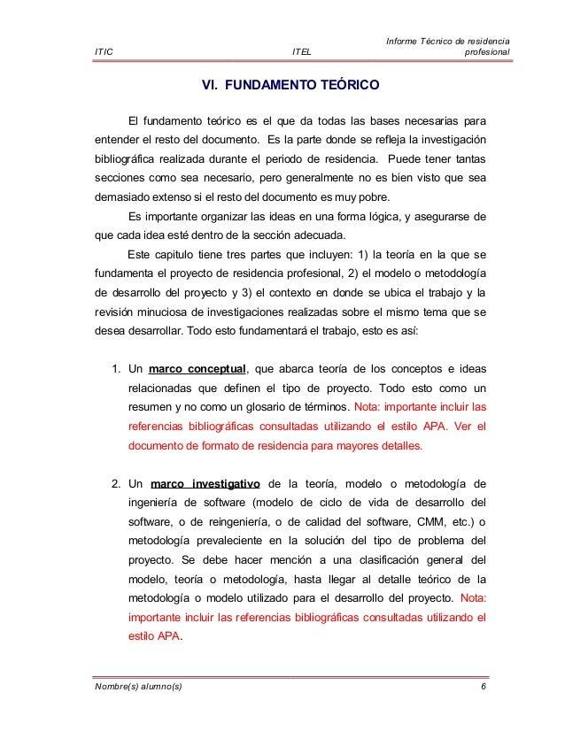Plantilla informe residencia ITEL Aguascalientes