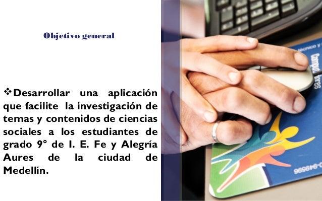 Indagación . Diagnóstico inicial Los estudiantes del grado 9° de la Institución Educativa Fe y Alegría Aures de Ciencia...