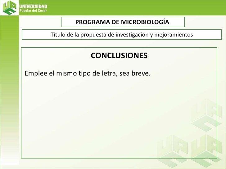 Plantilla Propuestas de Investigacion y Mejoramiento 2012