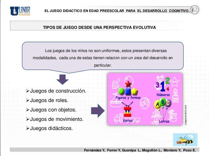 c7dfa2798e15 El Juego Didáctico en Edada Preescolar para el Desarrollo Cognitivo