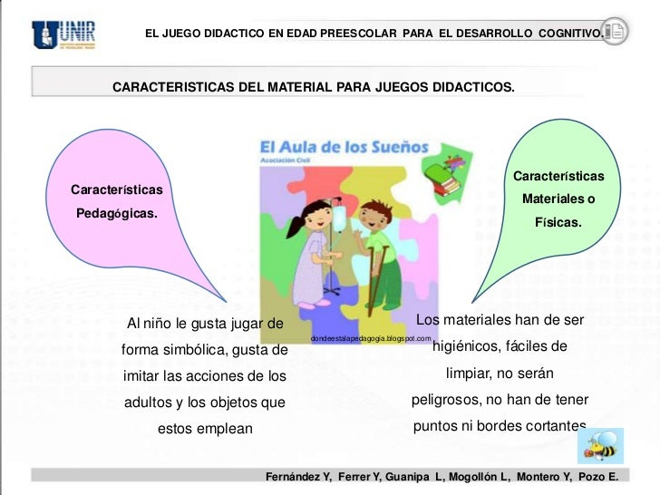 El Juego Didáctico en Edada Preescolar para el Desarrollo Cognitivo