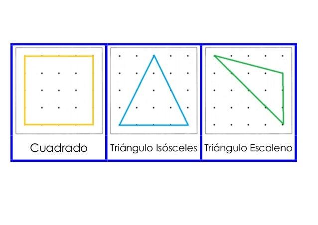 Cuadrado Triángulo Isósceles Triángulo Escaleno