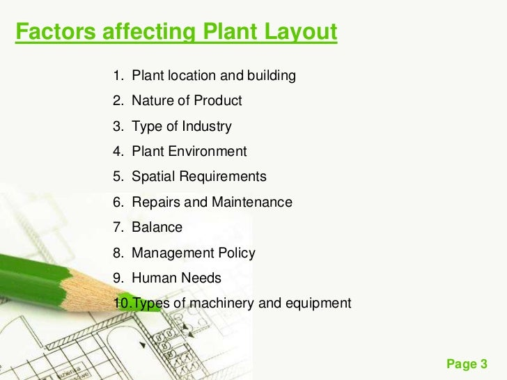 7 Major Factors Affecting Plant Layout | Industrial Management