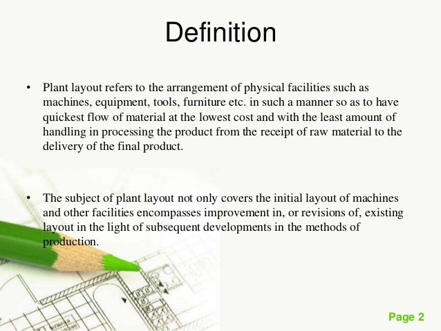 Plant layout page 1 plant layout 2 page 2 definition ccuart Image collections