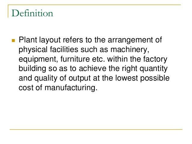 Z Arrangement Classroom Design Definition ~ Plant layout production management