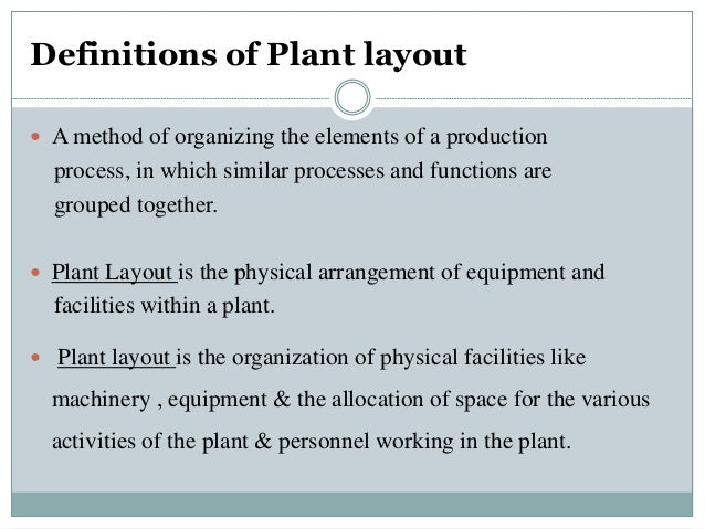 Plant layout ccuart Image collections