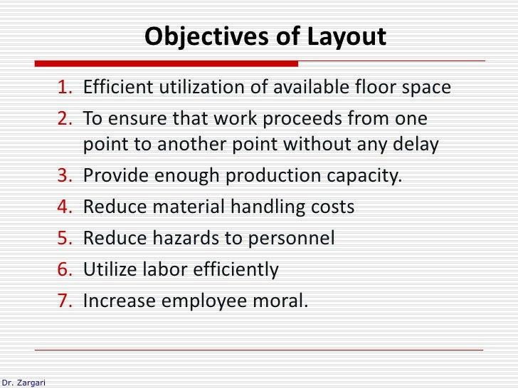 objectives of material handling pdf