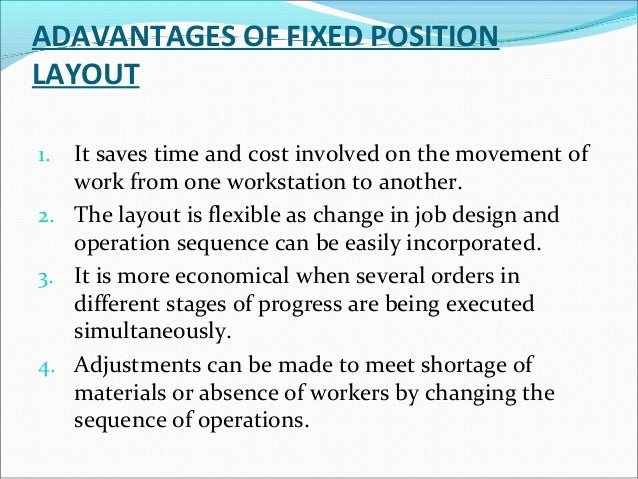 The recent trends in layout are as follows –  1. The use of computerized facilities design:  The various techniques have ...