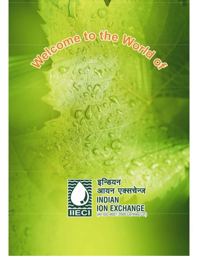 Water Plant By Indian Ion Exchange & Chemicals Limited