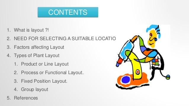 Plant location & layout design Slide 2