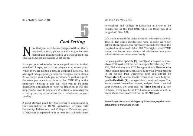 Goal Setting 5 ow that you have been equipped with all that is required to start, please start! It might be slow, Njustget...