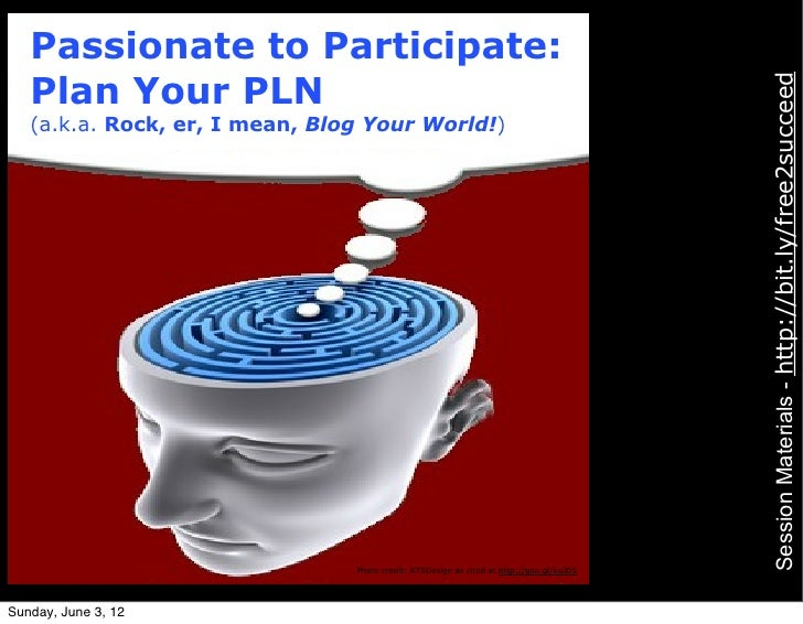 Passionate to Participate:   Plan Your PLN                                                                                ...