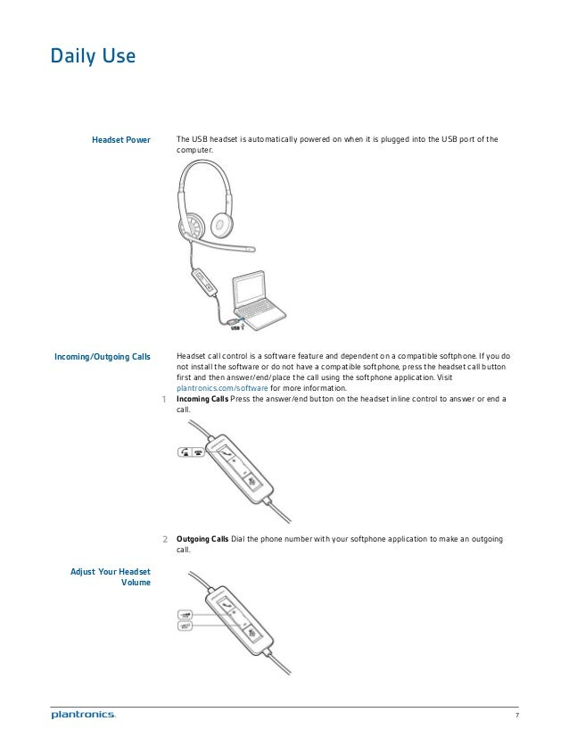 plantronics black wire c310 m c320 m user guide rh slideshare net  plantronics headset wiring diagram