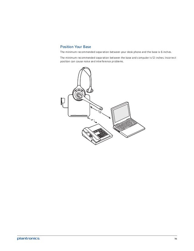Plantronics cs510 520 user guide