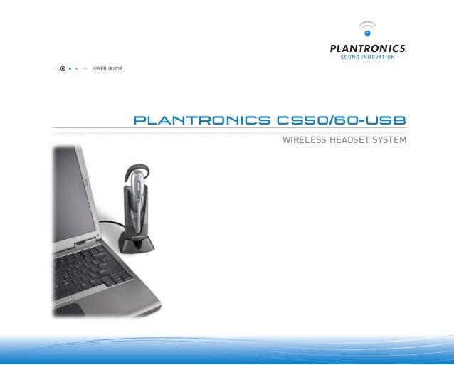 plantronics cs60 usb user guide rh slideshare net plantronics cs60 wireless headset manual plantronics cs60 wireless headset user manual