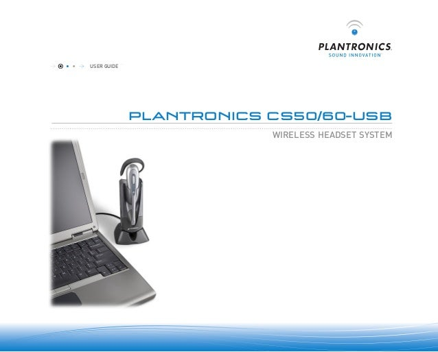 plantronics cs60 usb user guide. Black Bedroom Furniture Sets. Home Design Ideas