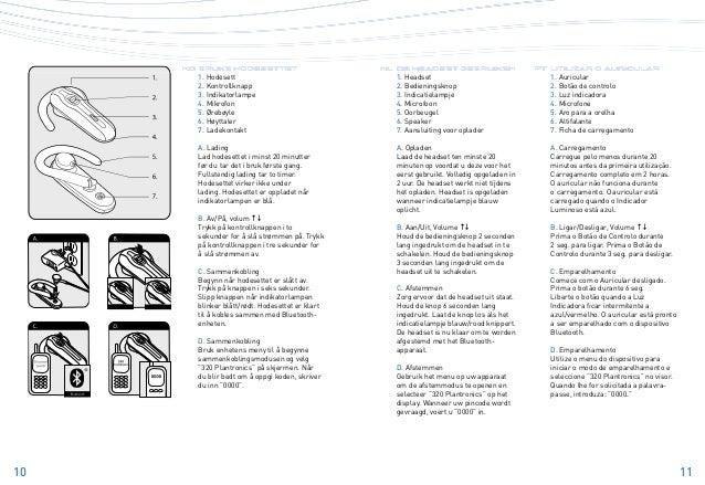 Plantronics explorer 320 user guide