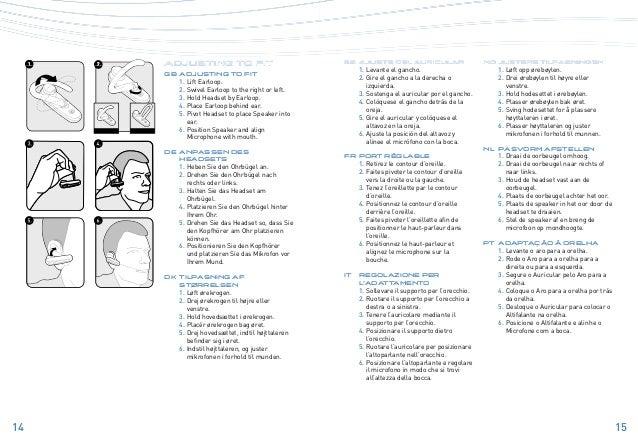 Plantronics explorer 340 user guide