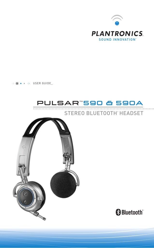 Plantronics Pulsar 590 User Guide