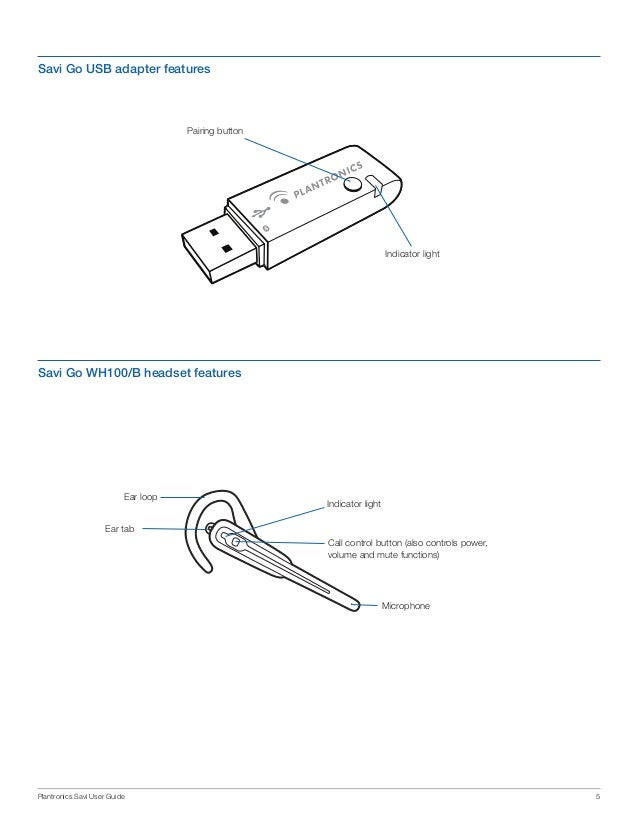 Plantronics savi go wg100 convertible bluetooth headset