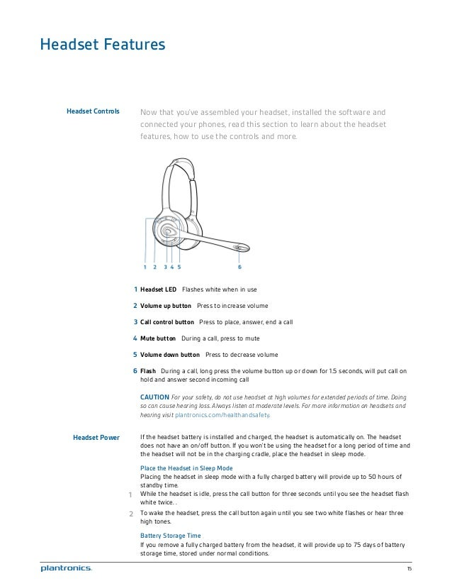plantronics savi w720 user manual