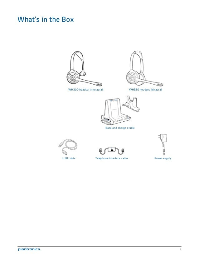 Plantronics savi w720 user guide