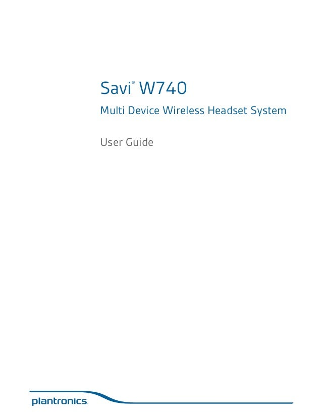 plantronics savi w740 user guide rh slideshare net plantronics savi w740 user manual plantronics 740 user guide
