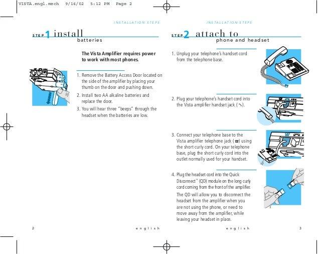 plantronics handset lifter instructions