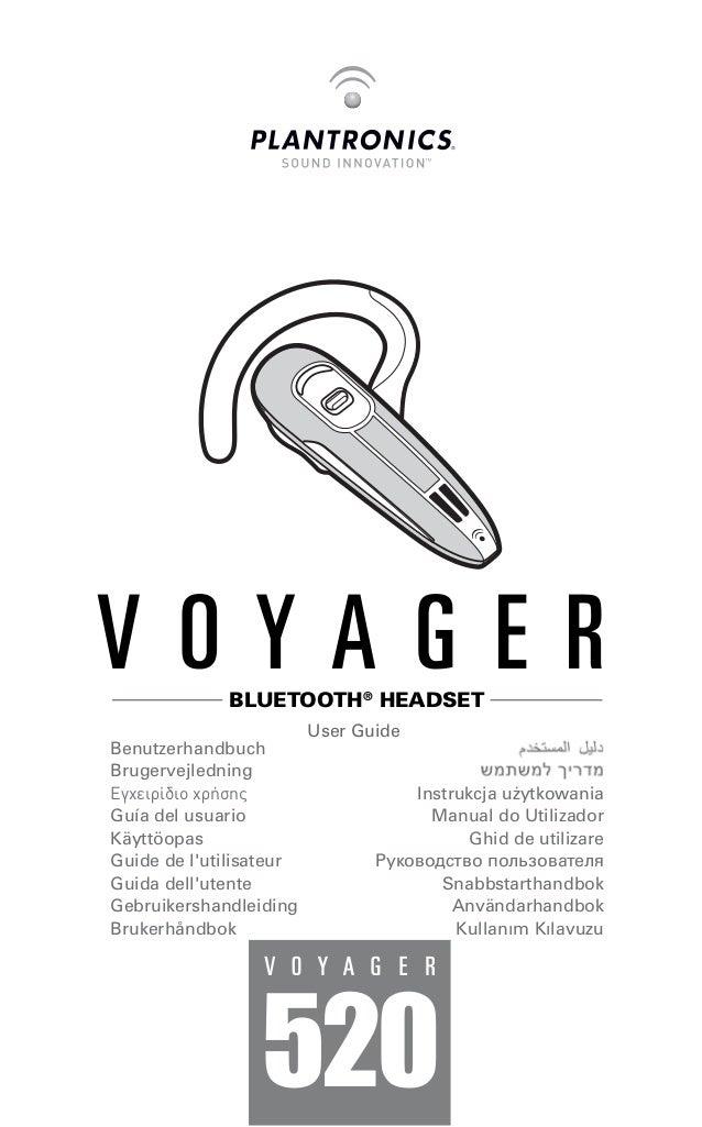 plantronics voyager 520 user guide rh slideshare net Plantronics Voyager User Manual CS540 User Guide