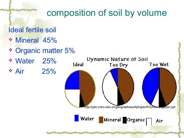 Plants water soil for Nature and composition of soil