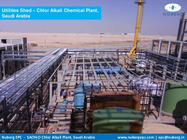 Plant Saudi Arabia Chlor Alkali Chemical Plant