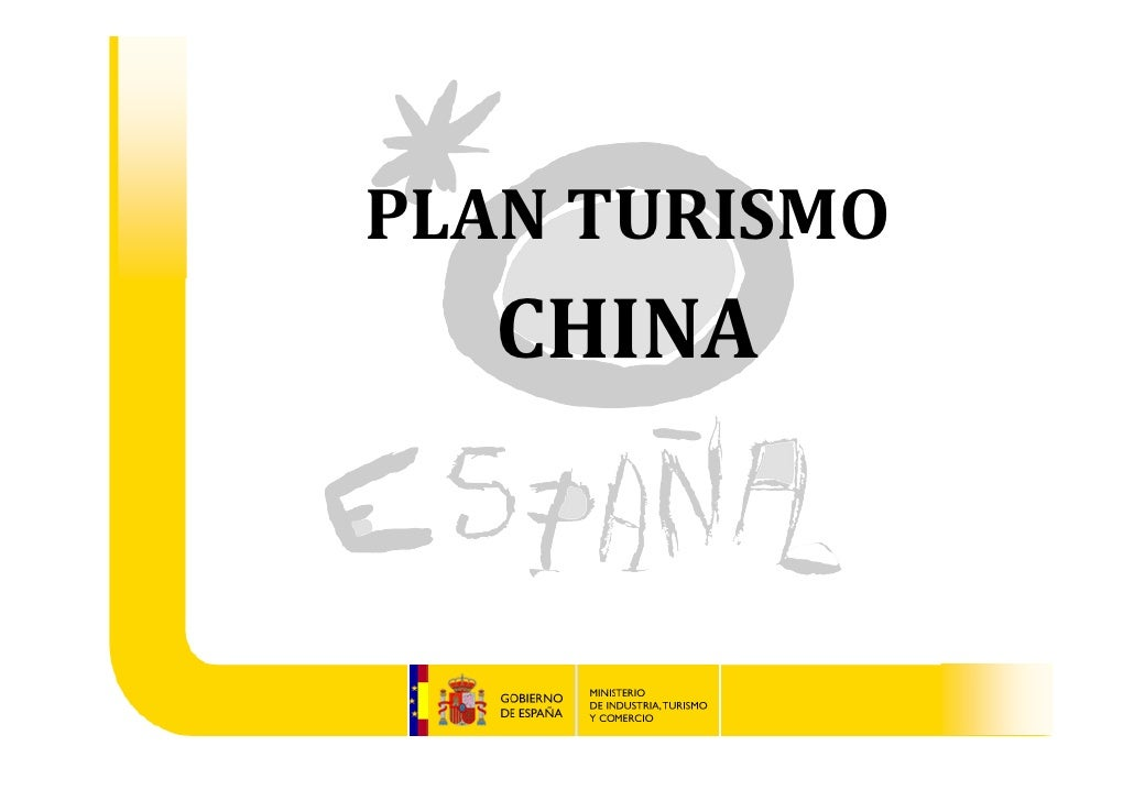 PLANTURISMO  CHINA   Gabinete del Ministro