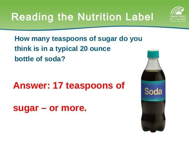 36. Calculating Teaspoons Grams of sugar ...