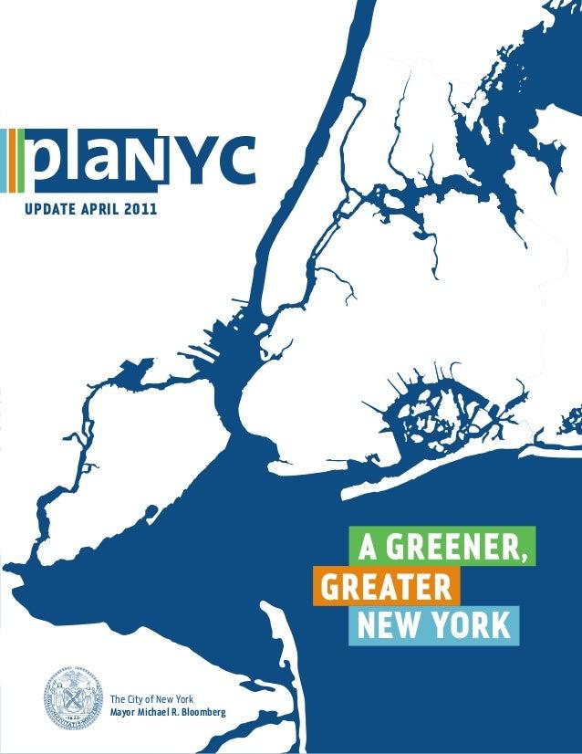 UPDATE april 2011                                       NEW YORK          The City of New York          Mayor Michael R. B...