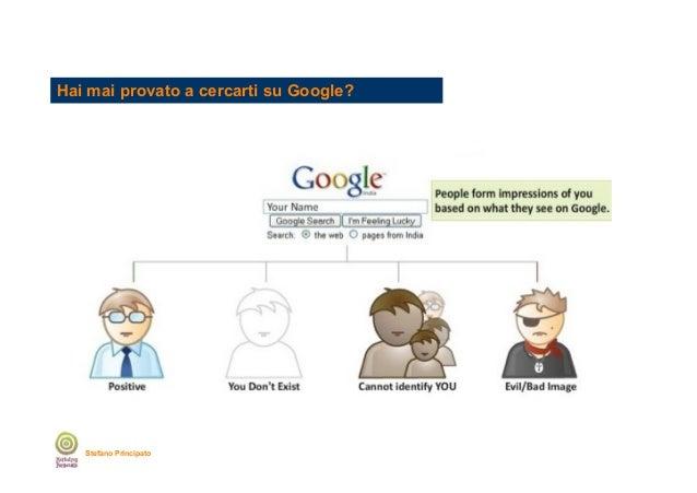 Hai mai provato a cercarti su Google?  Stefano Principato