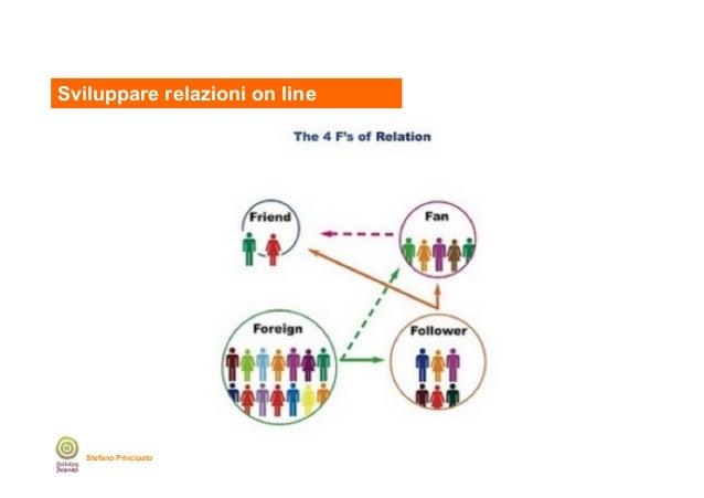 Sviluppare relazioni on line  Stefano Principato